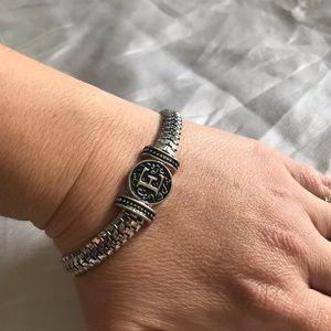 Jewelry - Initial chain link E bracelet